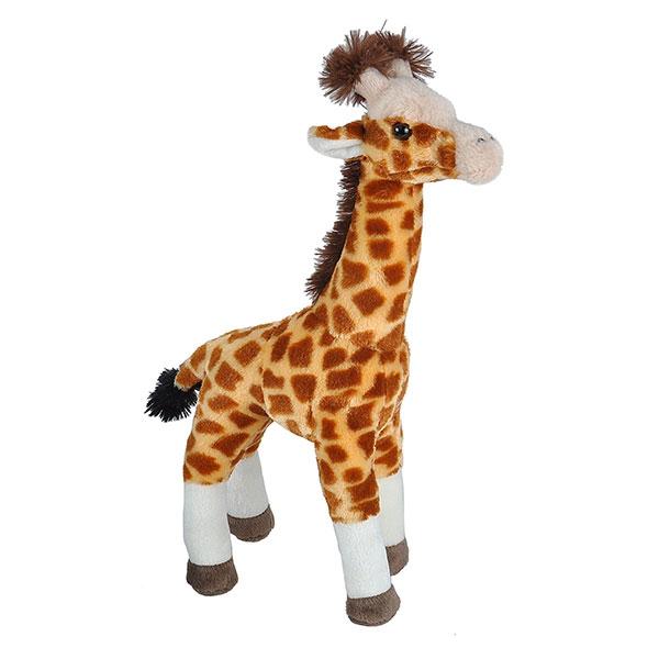 """STANDING GIRAFFE STUFFED ANIMAL - 17"""""""