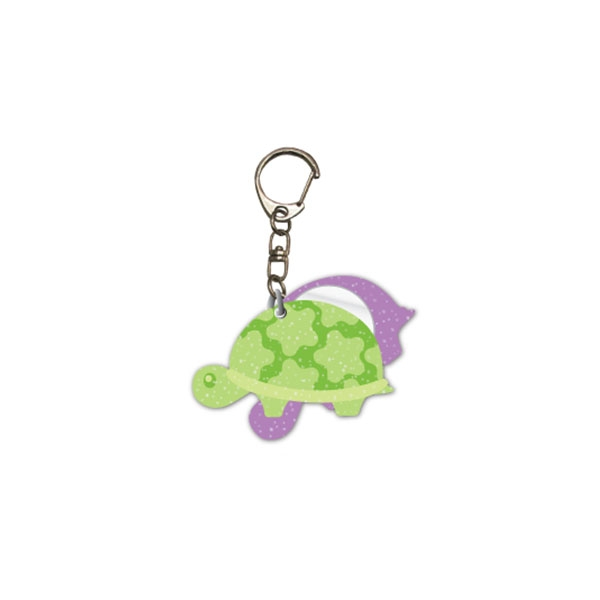 TURTLE KEY CHAIN & MIRROR