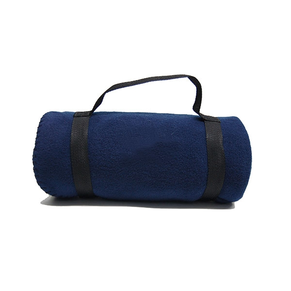 OAKLAND ZOO BLANKET--BLUE
