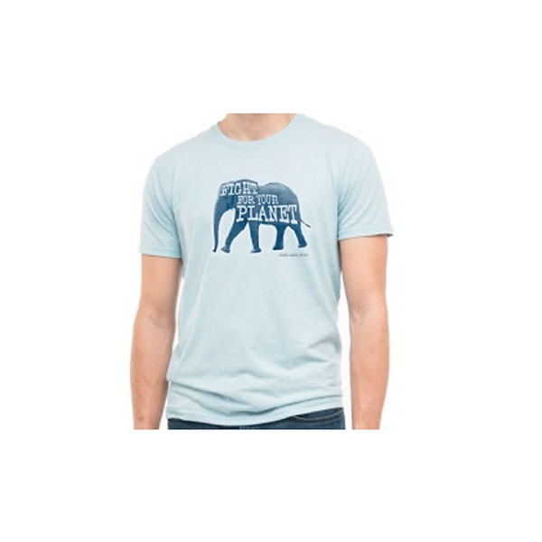 ADULT TEE ELEPHANT FIGHT FOR YOUR PLANET