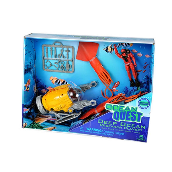 OCEAN QUEST  DEEP OCEAN RESEARCH PLAYSET