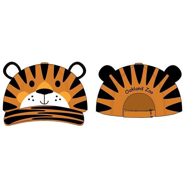 TODDLER CAP 3D TIGER