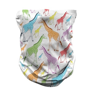 ADULT GIRAFFE REPEAT GAITER