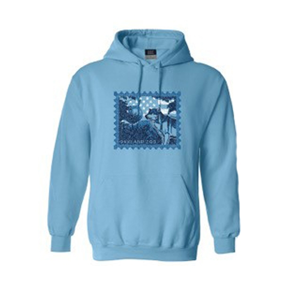 ADULT HOODY WOLF STAMP