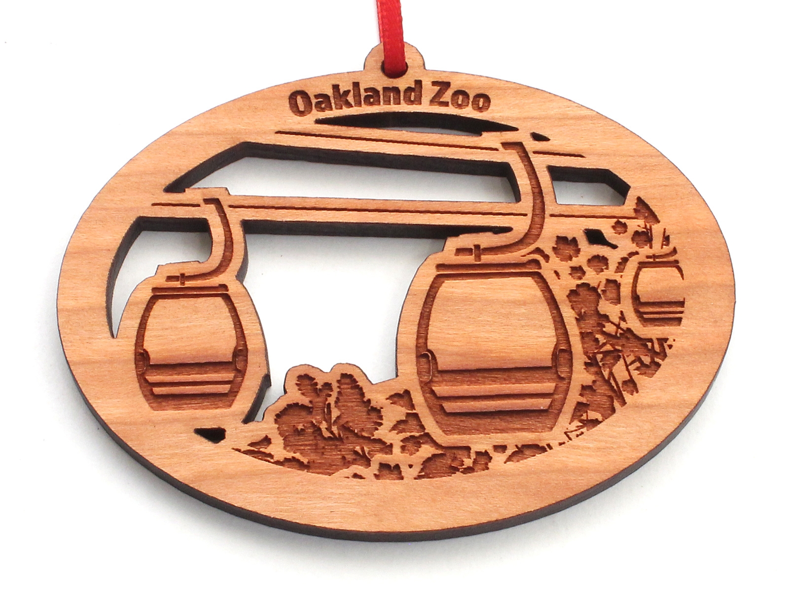 OAKLAND ZOO GONDOLA ORNAMENT
