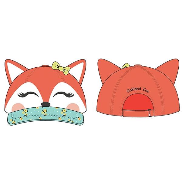 TODDLER 3D CAP FOX
