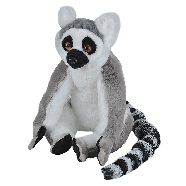 RING TAILED LEMUR STUFFED ANIMAL - 12""