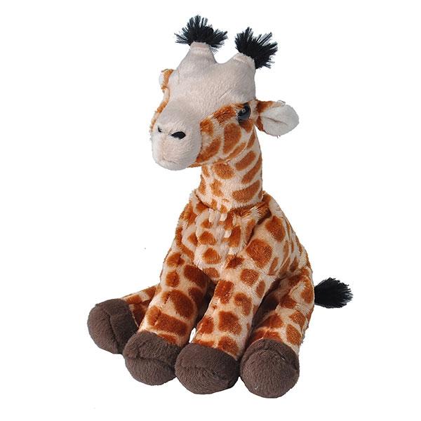 "BABY GIRAFFE STUFFED ANIMAL - 12"""