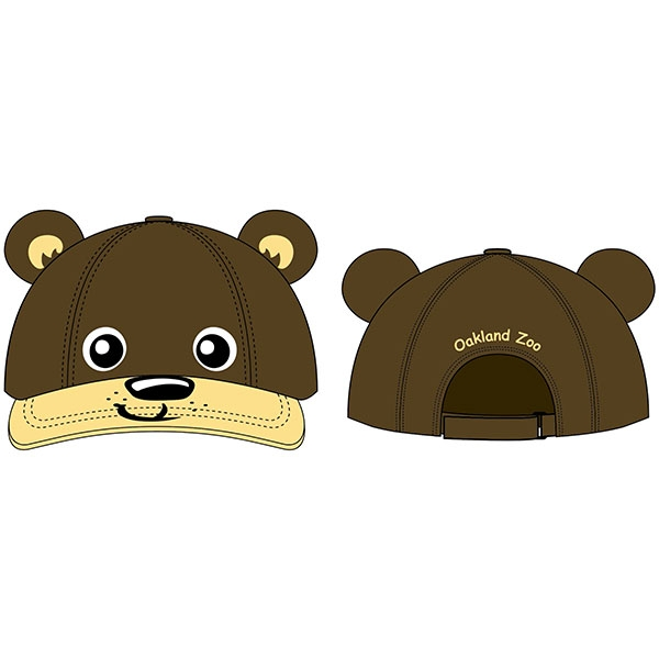 TODDLER 3D CAP LITTLE BEAR