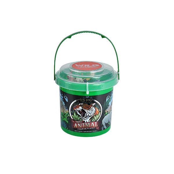 ZOO ANIMAL MINI BUCKET