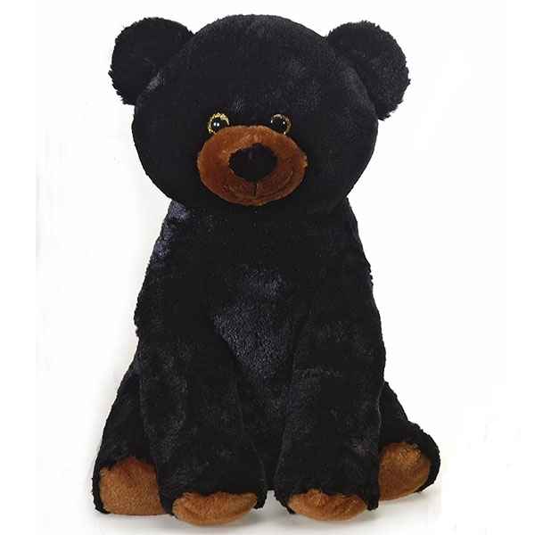 BLACK BEAR PLUSH FOR CONSERVATION