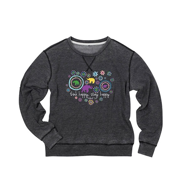 ADULT LADIES FLEECE ELEPHANT BURST