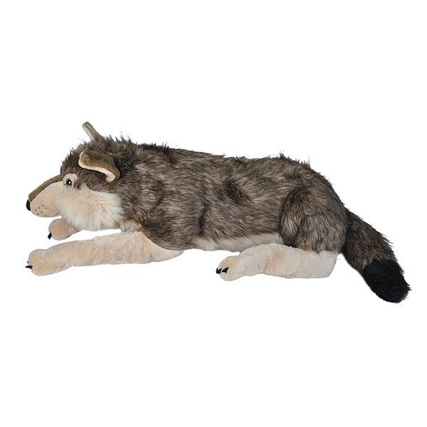 WOLF PLUSH JUMBO 70IN