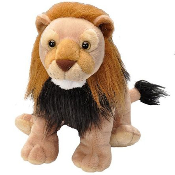 LION STUFFED ANIMAL - 12""