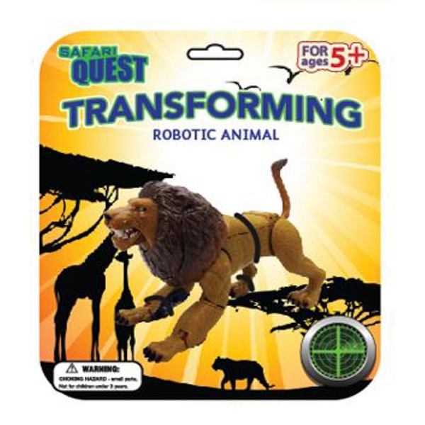 SAFARI QUEST TRANFORMING ANIMAL LION