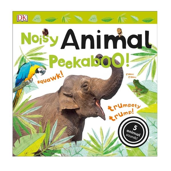 NOISY ANIMAL PEEK A BOO BOARD BOOK
