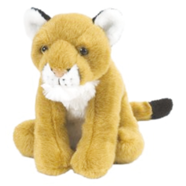 MOUNTAIN LION STUFFED ANIMAL - 8""