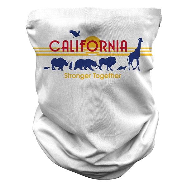 ADULT CALIFORNIA  LICENSE PLATE GAITER