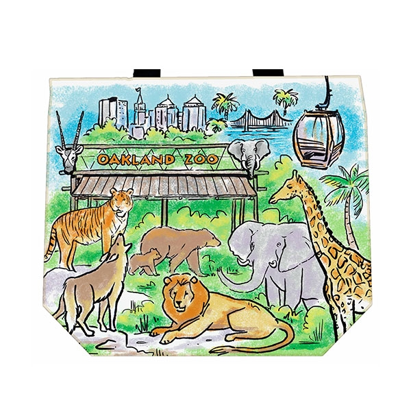 OAKLAND ZOO TOTE