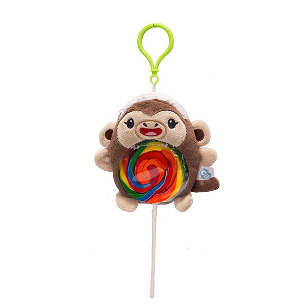 MONKEY PLUSH LOLLIPOP