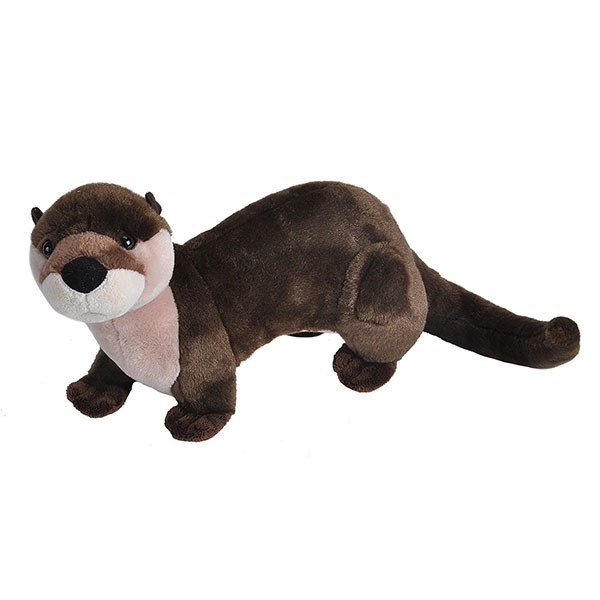 RIVER OTTER STUFFED ANIMAL - 15""