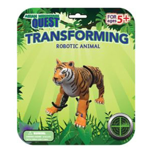 ASIAN MOUNTAIN QUEST TRANSFORMING ANIMAL TIGER