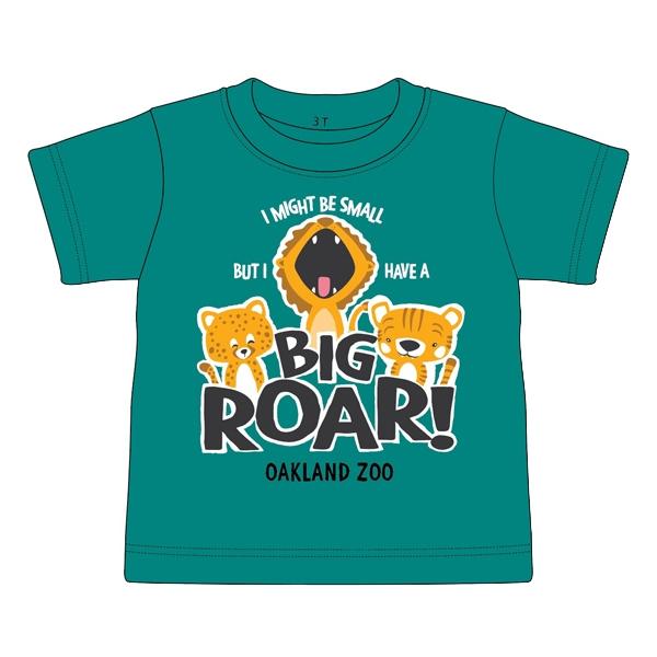 TODDLER TEE BIG ROAR CATS