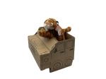 Just Imagine Upcycled Sloth Plush Box